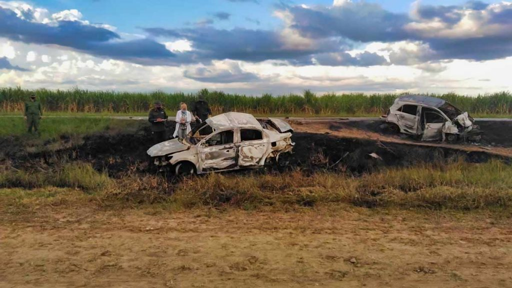 autos accidente carretera cuba