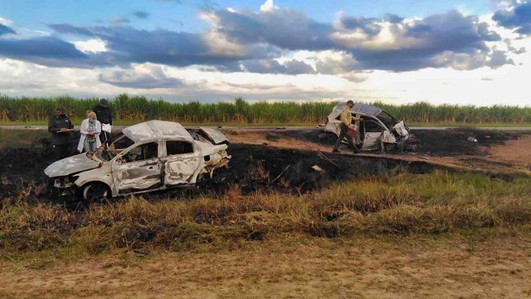 Identifican fallecidos en accidente de tránsito en Las Tunas (+Fotos)