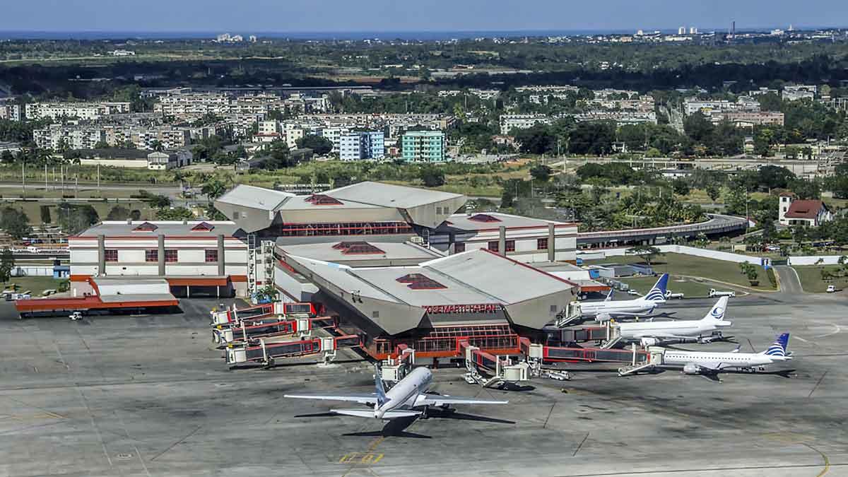 vista aerea aeropuerto habana