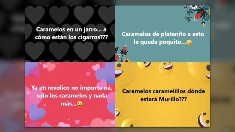 Caramelos de… los cubanos pregonan, con rimas, problemas