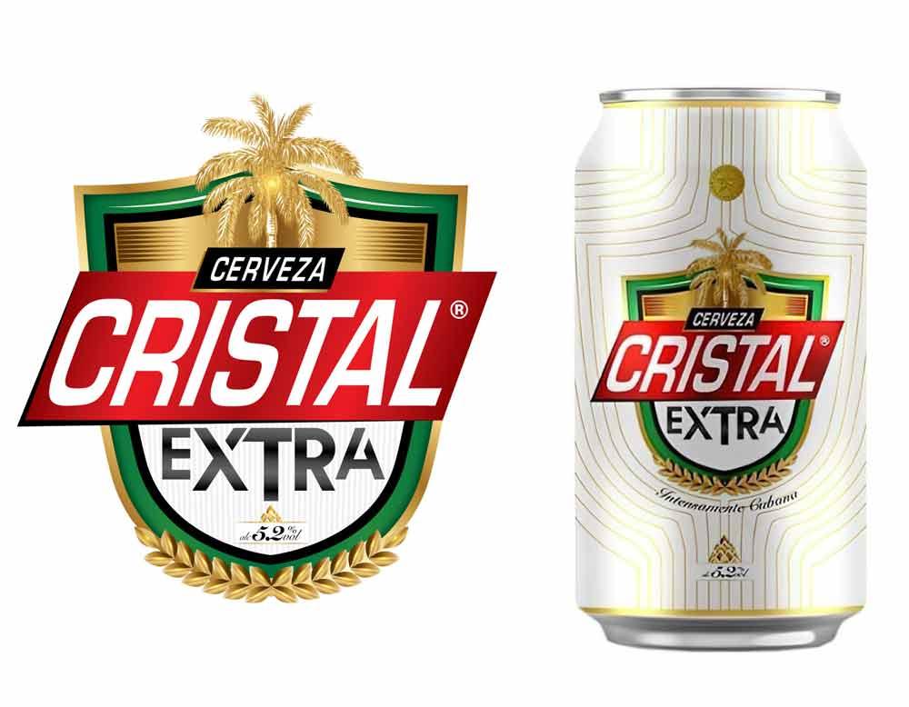 cristal extra cerveza