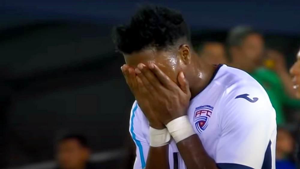 jugador cubano de futbol copa oro