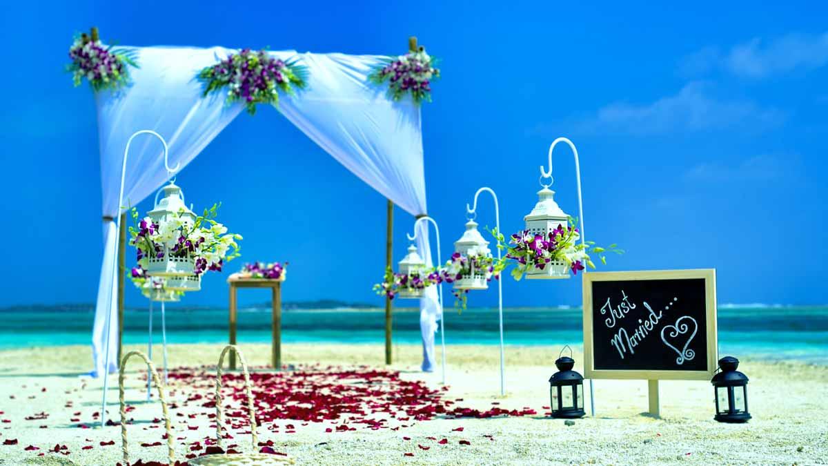 boda playa cuba