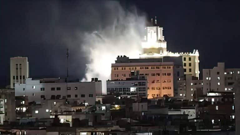 Hotel Nacional de Cuba: ¿realmente en llamas? (+Fotos y Video)