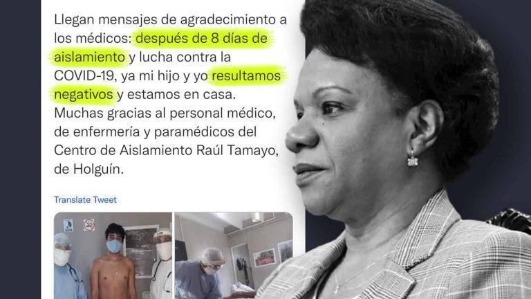 Viceministra de Cuba se contagia con la COVID-19: no habría cumplido el protocolo