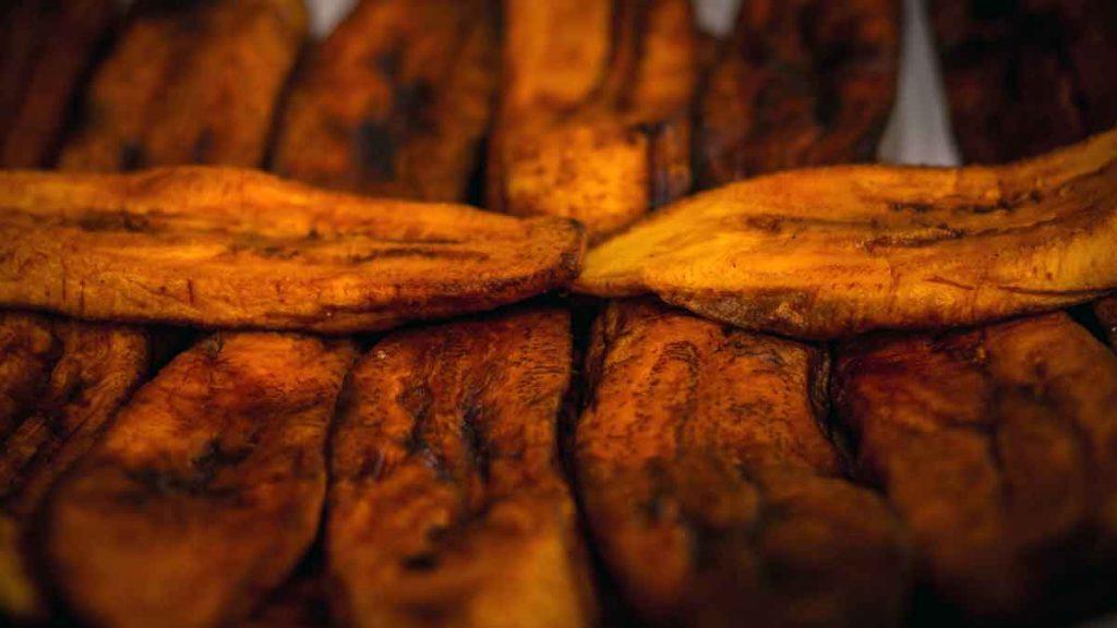 platanos maduros fritos cuba