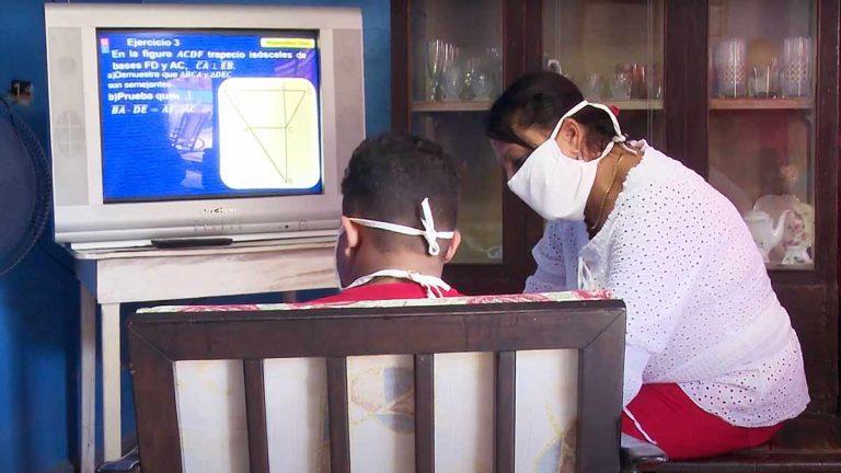 ¿Cuál es el horario de las teleclases en Cuba (octubre de 2021)?