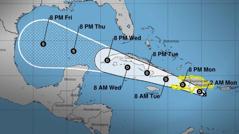 Depresión tropical Grace amenaza a La Española, Cuba y EE.UU.