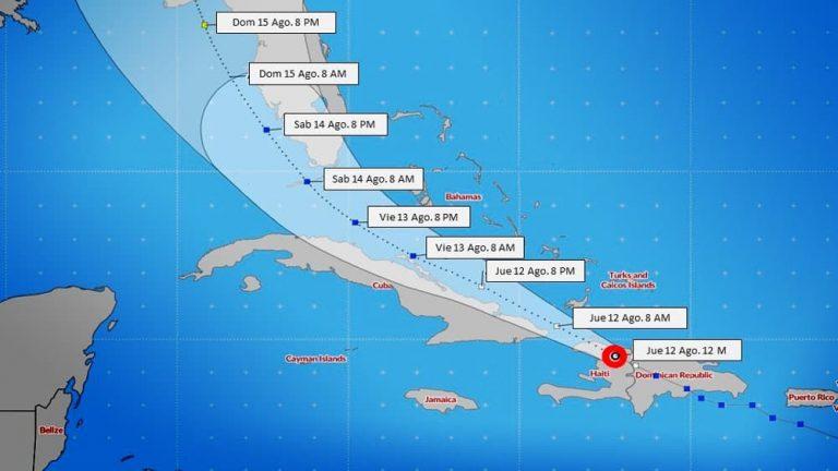 La tormenta tropical Fred se debilita en su rumbo hacia Cuba y Estados Unidos